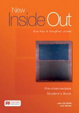 New Inside Out Pre-Intermediate Student´s Books + CD ROM + eBook