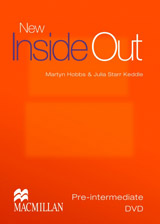 New Inside Out Pre-Intermediate DVD