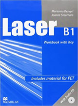 Laser B1 (3rd Edition) Workbook with key + CD