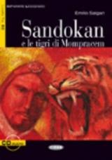 BLACK CAT - Sandokan e le tigri di Mompracem + CD (Level 3)