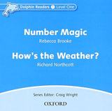 Dolphin Readers Level 1 Number Magic & How´s the Weather? Audio CD