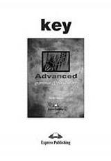 Advanced Grammar and Vocabulary Key