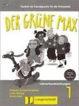 Der grüne Max 1 Arbeitsbuch mit Audio CD