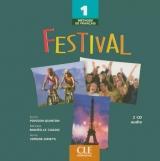 Festival 1 CD audio classe